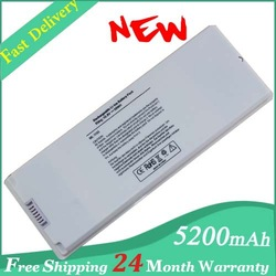"Replacement Laptop battery A1185 for Macbook 13"" White Macbook 13"" battery 10.8V 59Wh(China (Mainland))"