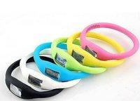 100% New& Stock Anion negative Wrist Bracelet Silicone sport fashion Watch