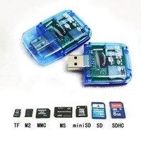 All In One Memory Card Reader USB 2.0 Multi Card Reader SD Card Reader