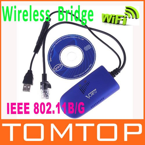 Vonets vap11g rj45 wifi ponte/bridge wireless per dreambox xbox ps3 pc fotocamera tv adattatore wifi con box al dettaglio, spedizione gratuita!