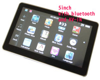 5 inch GPS Navigation with Bluetooth AV-IN 4GB car GPS