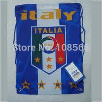 Wholesale Italy football back pack bag / shoe bag fashion sport backpacks