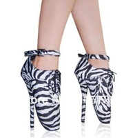 Free shipping,hot sale-dress like LADYGAGA, high heel shoes, sexy shoes,ballet shoes