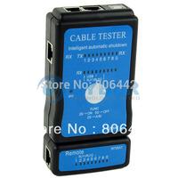 Cable Tester LAN USB RJ45 RJ11/RJ12 Network Ethernet CAT5 UTP Multi-Modular PC Free Shipping