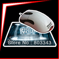Promotion Bundle,MOD White SS Edition Intellimouse 1.1 + Frag You Mousepad (Custom Pad), Fast & Free Shipping,
