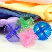 Household Sundries Washing Laundry Dryer Ball Soften Cloth No chemicals washing ball clean ball wholesale whcn