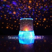 1pcs/lot Wholesale Freeshipping Amazing led Star Projector,star beauty,night lighting light,lamp,constellation lover star master