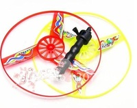 Wholesale retail Multi Colors Flying Saucer UFO Frisbee Disc Toy Spin Outdoor Kid Educational Children