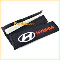 1 pair Car/Truck Seat Belt Cover Shoulder Pads for Hyundai #1189