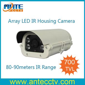 700tvl SONY Effio CCD Outdoor Array LED IR CCTV Camera, 90meters IR Range Camera