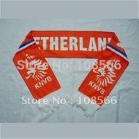 Wholesale Netherlands scarf / Holland fans scarves/ Netherlands souvenirs