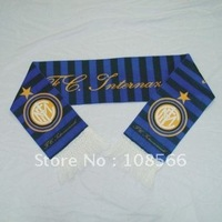 Wholesale Inter Milan scarf /  neckerchief soccer scarves wrap for football team fans