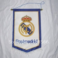 Wholesale Real Madrid  football with a flag pole / banner/appealing