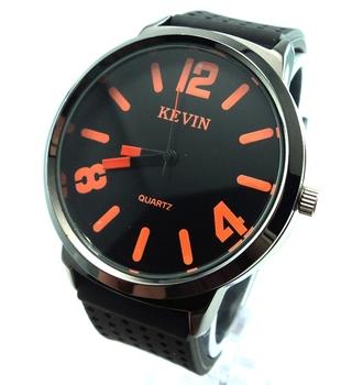 Men's wristwatches fashion Silicone quartz watch Wholesale watches men  W195