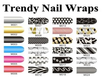 2012 Trendy Nail Art Foil Wrap Stickers Best For DIY Nail Decoration Free Shipping