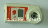 Free shipping, Retail Mini digital refractometer(Brix 0-53%)