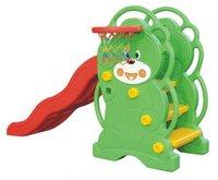 2011 kids indoor plastic slide / indoor playground equipment/ indoor bear slides