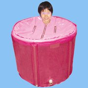 Plastic folding bathtub (70cmx70cm)