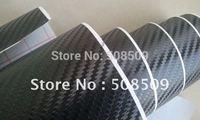 1.52*30m/roll air free bubble 3d carbon fiber vinyl film perfect quality Guaranteed 100% free shipping