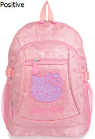 1 PCS Crazy backpack / hello kitty school bag / HELLO KITTY Backpack School Book Child Bag /pink / girls backpack, free shipping