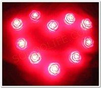 Free shipping wholesale 100pcs/lot  LED red rose night light+Christmas night light+romantic light