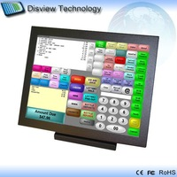 "ALL-In-One 15"" Touch pos terminal point of sales device pos system wireless kiosk: ATOM D425 CPU/ 250GB HDD/ 1GB RAM: P15-A4!"