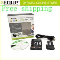2pcs/Lot Free Shipping! WiFi USB 54M Lan Card high power 200mw Wireless Adapter antenna built-in
