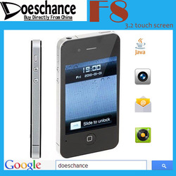 hot selling 3.2&quot; I9 4G F8 touch screen dual sim free shipping (support drop shipping)(China (Mainland))
