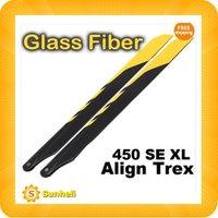 325mm 325 GF Glass Fiber Main ROTOR Blade For ALIGN - KDS T-REX Trex 450 XL SE V2