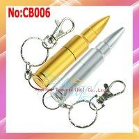 Wholesale1GB 2GB 4GB 8GB 16GB 32GB 64GB 2 Color Metal Bullet USB Flash Drive 1 year warranty #CB006