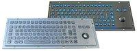 IP65 vandal proof industrial stainless steel keyboard(X-BP901B)