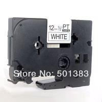 12mm x8m Black on white Label Tapes Cartridges PT-S231