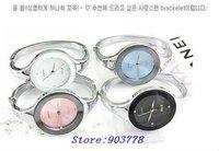 50pcs/lot free shipping alloy band quartz analog  high quality quartz special women watch(discount sales)