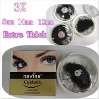 10x 8mm 10mm 12mm false eyelash extensions eyelashes whole sale Free shipping