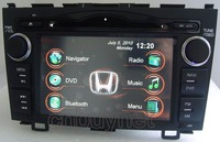 2 Din GPS Navigation DVD Player for 2007-2011 HONDA Car CR-V,Radio,Ipod