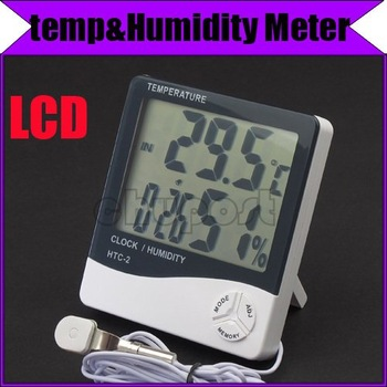 Temp & Humidity Monitor indicator Meter thermometer #3071