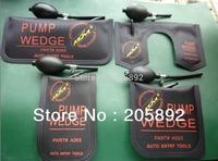 Original KLOM Small/ Middle/Big/U size air wedge  Air pump wedge Inflatable Unlock Door car  4pcs/lot free shipping -Black