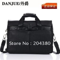 Free Shipping 1pcs/lot genuine leather handbags, men briefcase, men genuine leather briefcase, high quality briefcase