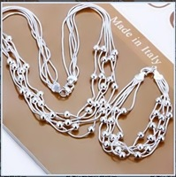 Free Shipping Wholesale 925 S Silver set jewelry set for wedding dress lovely gift for woman 100% stand new