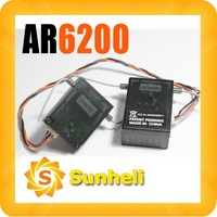 AR6200 6ch Receiver for rc helicopter airplane compatible with dx6i AR6100E