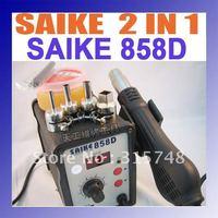 HK Freeshipping On sale ~ Saike 858D SWD rework station Hot air gun 700W 220V or 110V