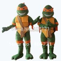 New version of the Teenage Mutant Ninja Turtles action figure mascot costume TMNT  Free shipping