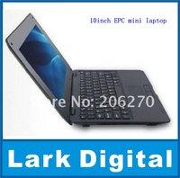 10inch EPC mini laptop VIA8505 +wifi+Camera&free shipping