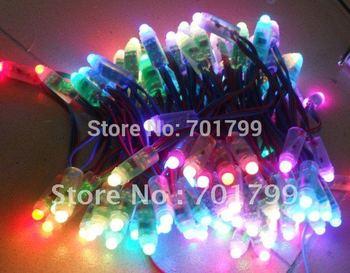 50 node LED pixel string ;DC12V input;new model,IP68;TM1804IC