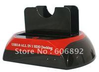 "USB3.0 HDD Docking Station, HDD Docking, Dual/Twin 3.5""/2.5""SATA HDD dock / Docking station"