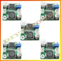 Freeshipping 5pcs/lot DC-DC Step-down Adjustable Power Supply Module & Wire-10000025