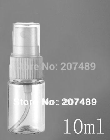 10CC NEW Perfume Atomizer Sprayer Spray Bottles Transparent Small Empty Spray Bottle 10ML wholesale(China (Mainland))