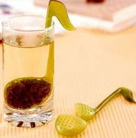 novelty Music symbol spoon with Tea Strainer Note/Tadpole /Stirrer/Spoon/Infuser,filter whcn+