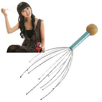 150pcs/lot Head Massager Head Spider Tingler Hot to US CA FREE SHIPPING