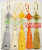 chinese knot in colorful color, Small Jade series /Christmas/xmas/new years present/gifts/decoration.,free shipping